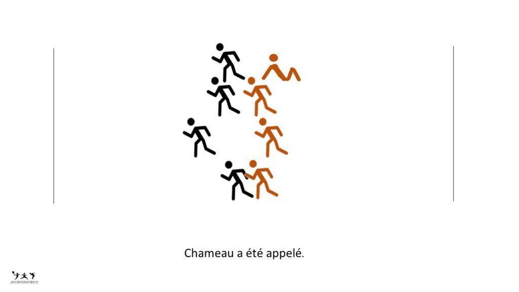 Chameau - Chamois, jeu de réflexe