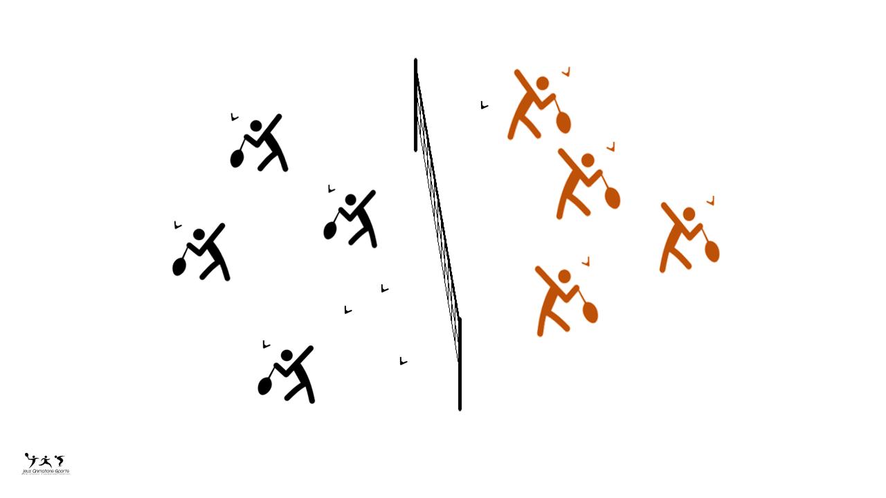 Volants brûlants - badminton