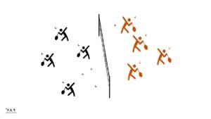 Volants brûlants - Exercice badminton