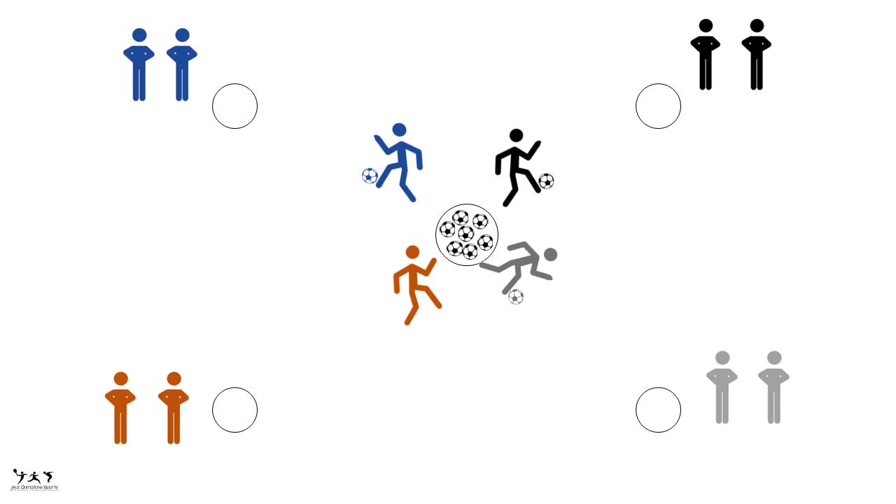 Voleur de nid, animation foot