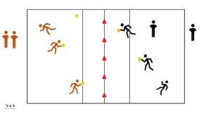 Dodgeball, variante sportive du ballon prisonnier