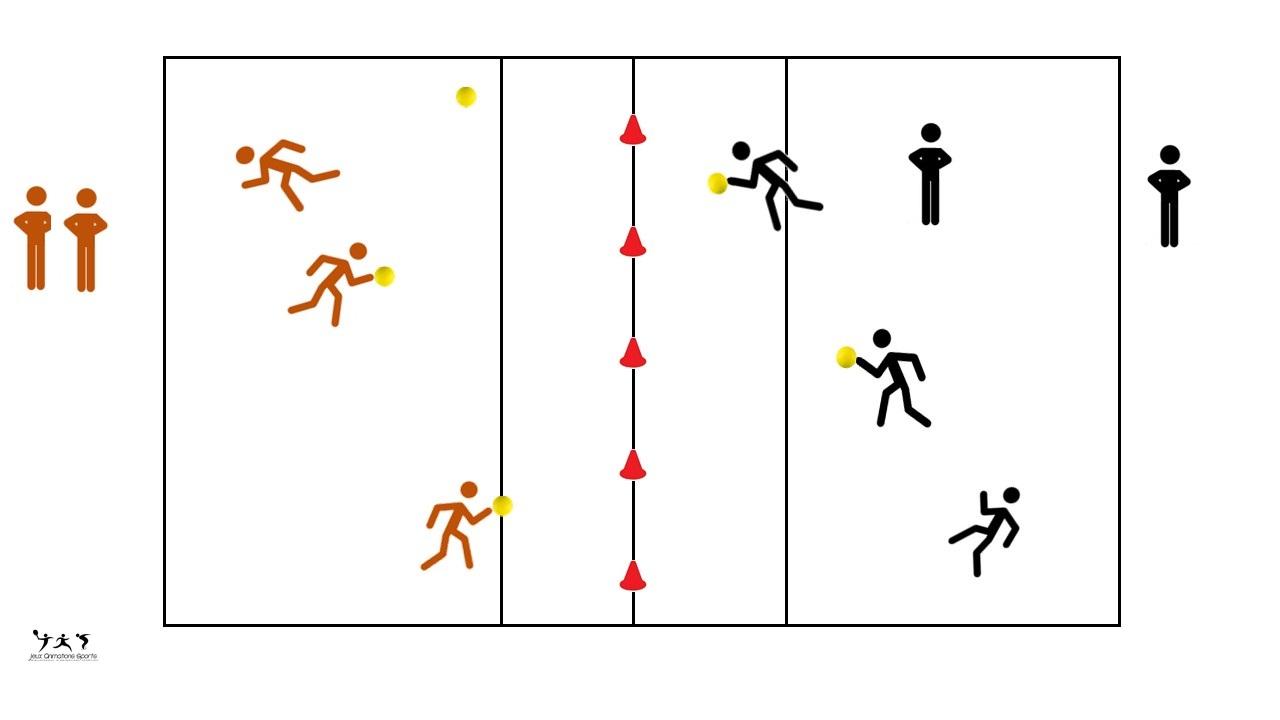 Dodgeball - variante sportive du ballon prisonnier